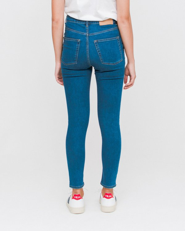 Skinny Blue Garmentory Cheap Abstract Jeans High Monday 6f1fvWPT