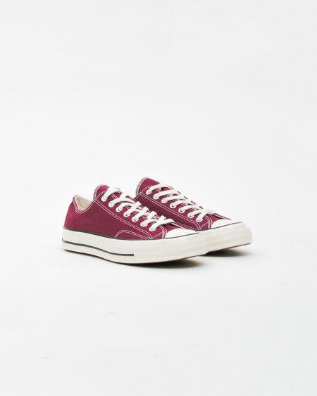 Unisex Converse Chuck Taylor All Star '70 OX Shoes - Dark Burgundy