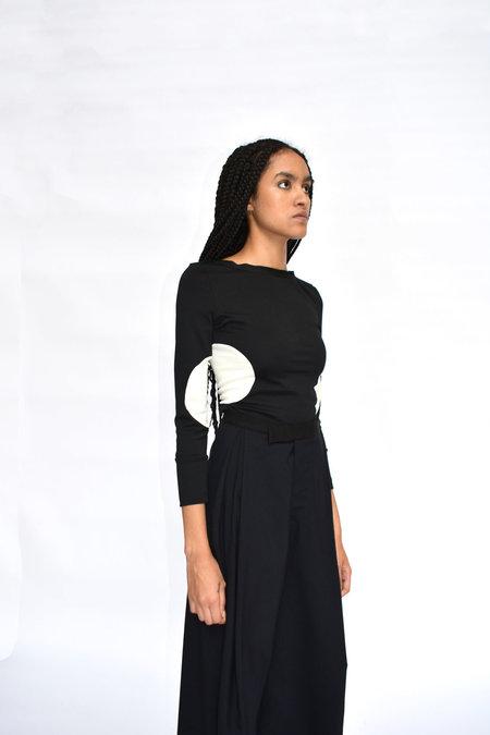 CV Saint Circle Shirt - Black/White