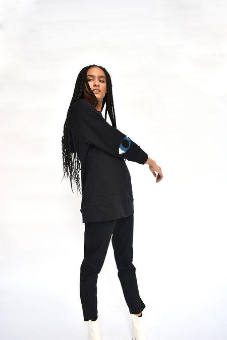 CV Saint Eye Fleece Hoodie - Black