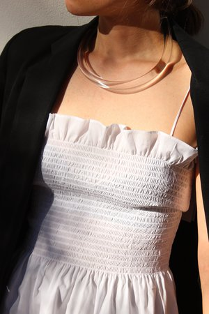Shaina Mote Opal top - Bone