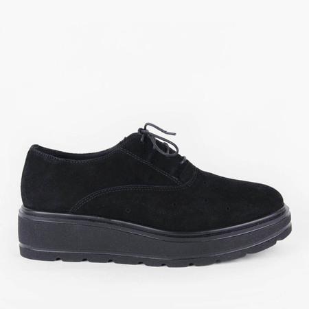 re-souL Loretta Platform Oxford - Black
