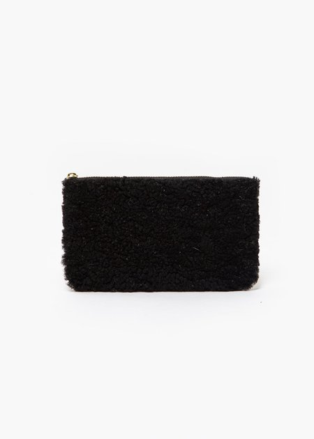 Erin Templeton Fuzzy Time For A Change Pouch - Black