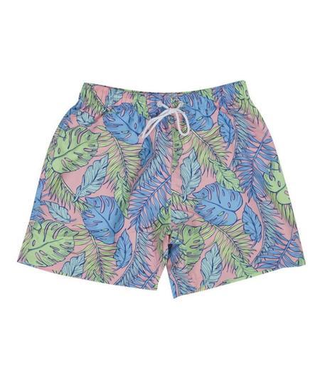 Boardies Palmtopia Print Mid Swim Shorts - Multi