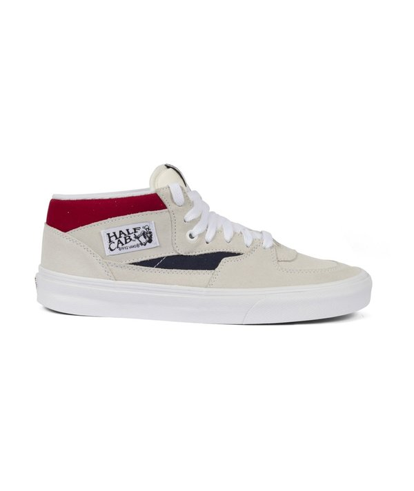 2dd8e9eb18 Vans UA Half Cab - White Red Dress Blue