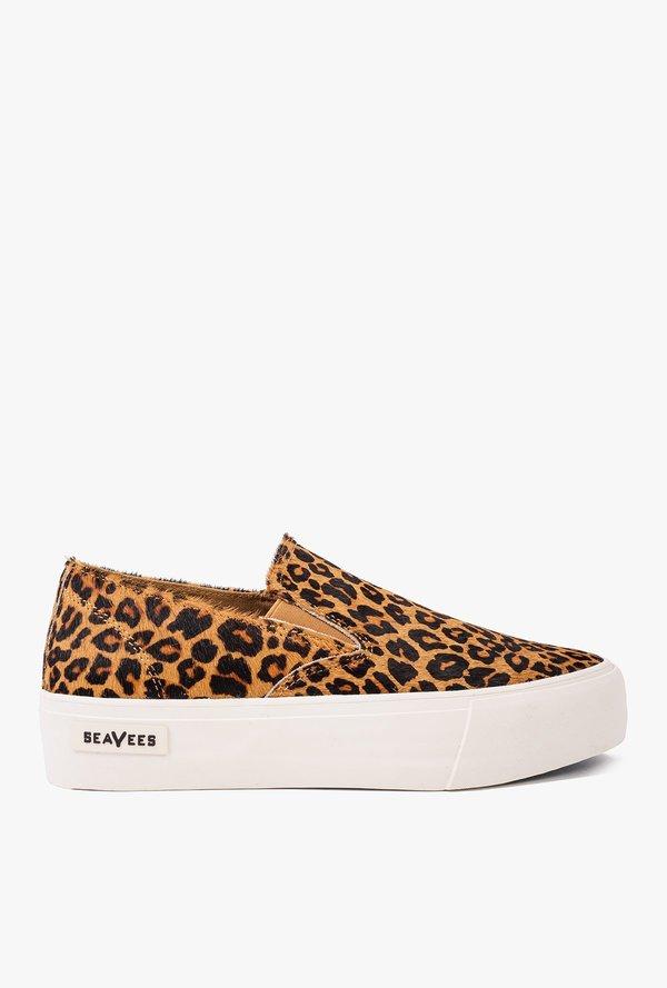 1036ffaae82 SeaVees Baja Platform Mulholland Slip On Sneaker - Leopard