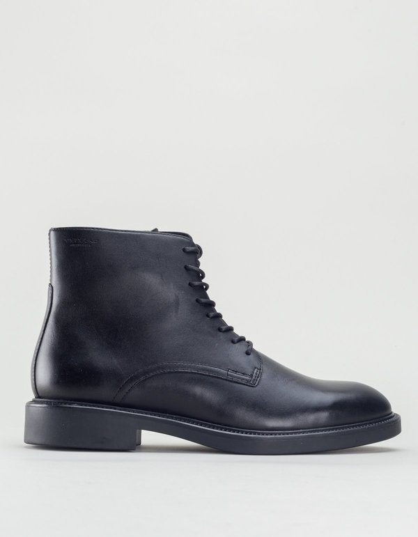 Vagabond alex leather lace-up boot - black