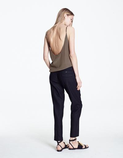 Markoo Andrea Silk Drop Crotch Trouser