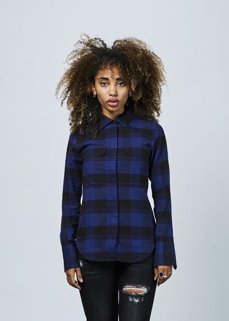 Lareida Alex Plaid Shirt - Blue/Black