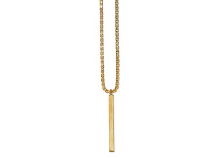 Ming Yu Wang San Pendat Necklace - Brass