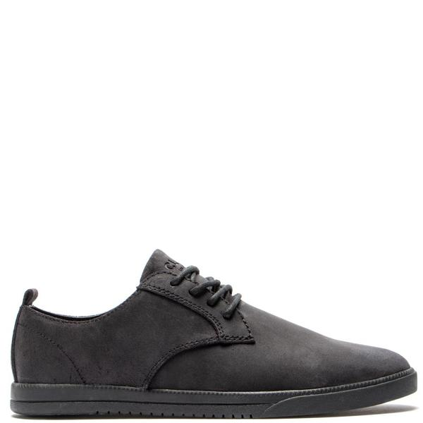 Deadstock.ca Clae Ellington Suede Black Waxed Suede on Garmentory