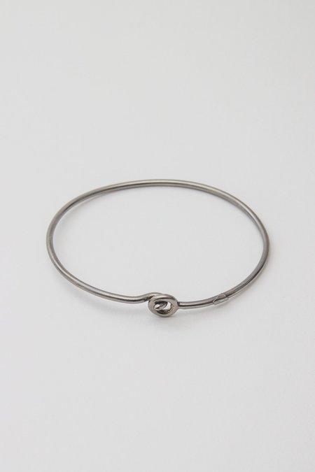 Bord De L'Eau Hook Bracelet - Platinum
