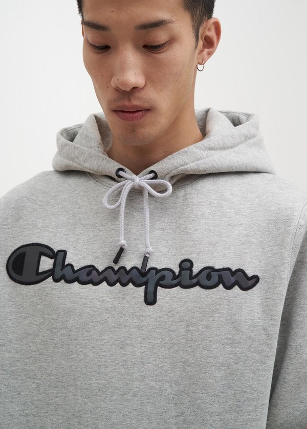 024f487fe994d3 Champion Reverse Weave Rainbow Logo Hoodie - Grey. sold out. Champion