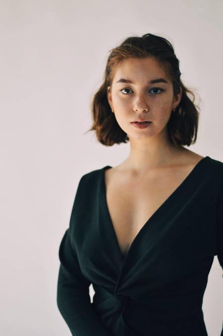 Ursa Minor Studio JAGGER DRESS - BLACK