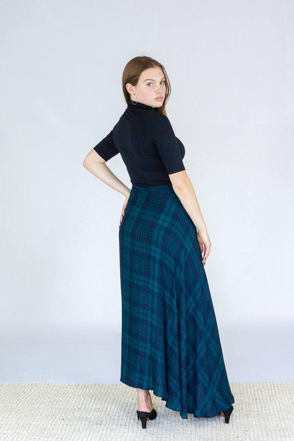 7e754a08e3 Tysa Wrap Skirt - Highland Green | Garmentory