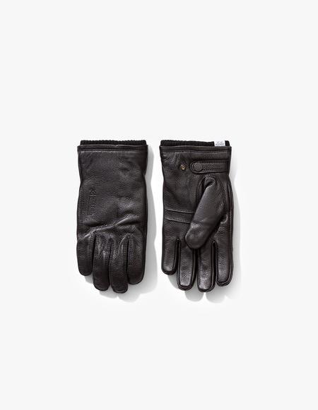Norse Projects x Hestra Utsjo Leather Gloves - Black