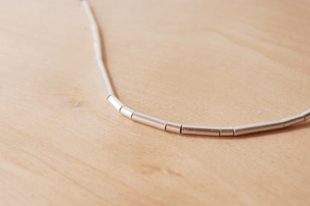 Rachel Gunnard Tubetti Necklace - Silver