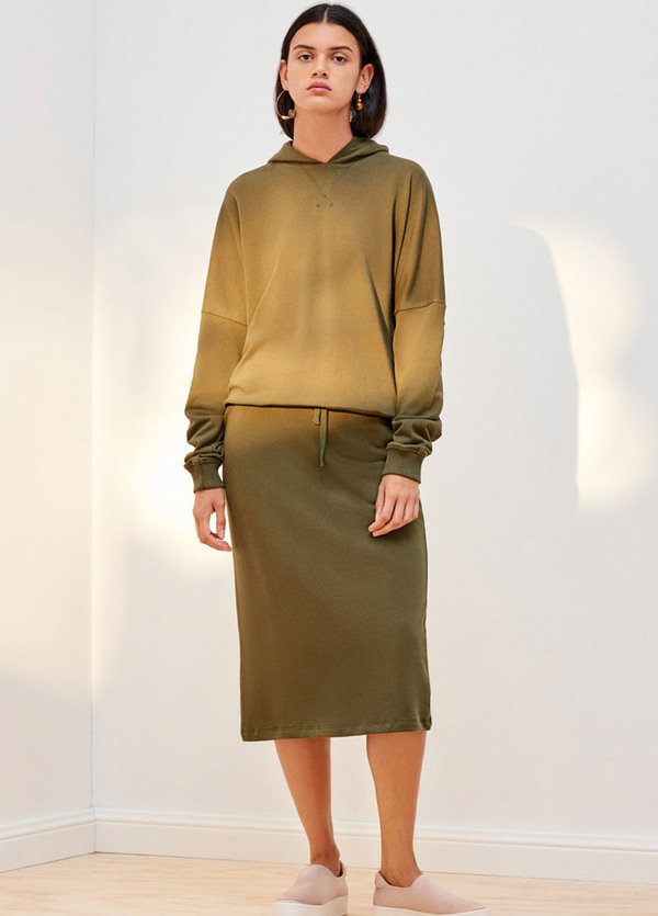Kowtow Building Block Hooded Sweater