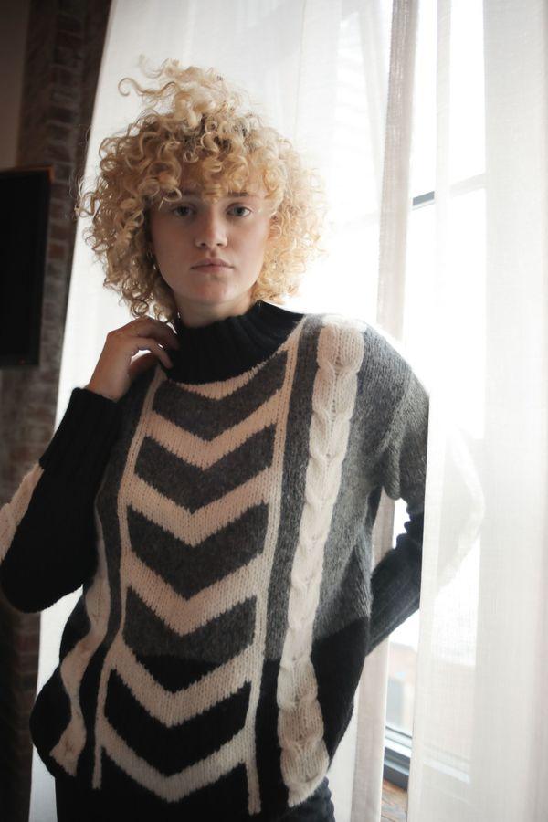 Kordal Klaus Sweater - Black