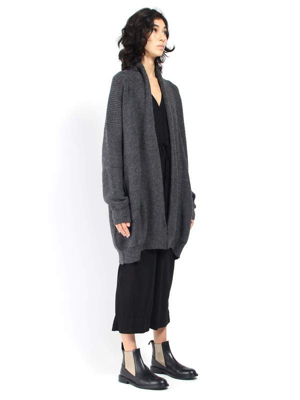 caa07837f5 Ali Golden Chunky Cardigan - Charcoal. sold out. Ali Golden