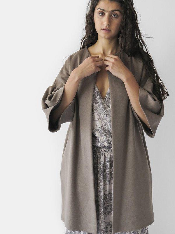Erica Tanov sadie coat - fawn
