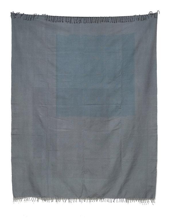 Tantuvi Lines Throw - Grey