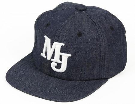 Momotaro Jeans Denim Snapback Cap