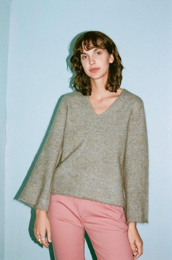 Hansel From Basel Lady Sweater - Seafoam