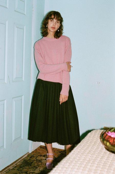 Suzanne Rae Crew Neck Sweater - Mauve