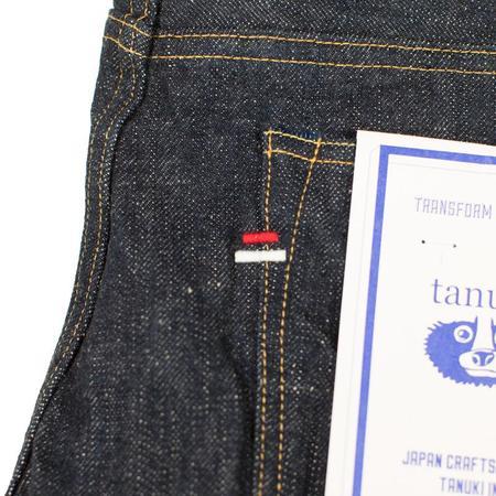 Tanuki 18oz Earth Denim High Tapered Jeans