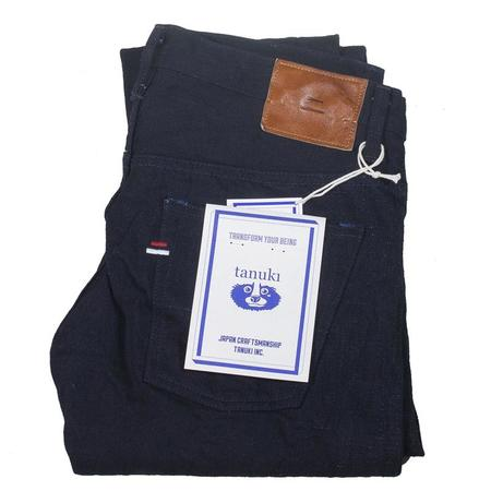 Tanuki IDT15oz Denim Tapered Jean - Double Indigo