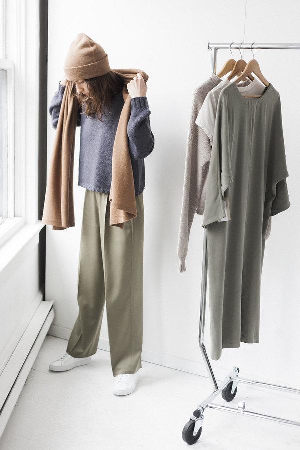 Bare Knitwear Alpaca Travel Wrap