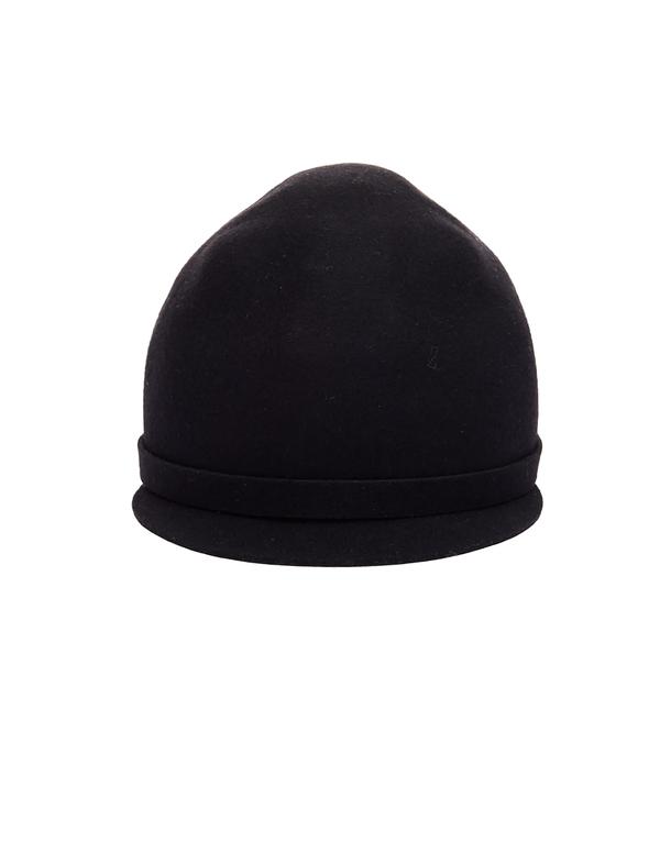 Yohji Yamamoto Wool Cap - Black  9dc7edea795