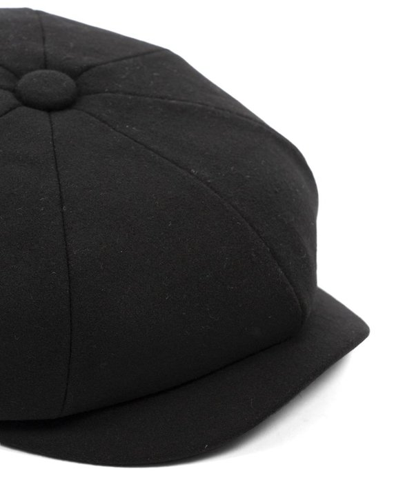 093ba4544cc Barbour Melton Baker Boy Cap - Black