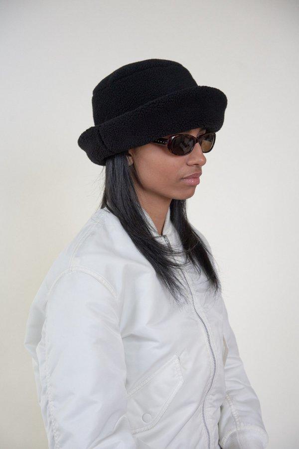 d5fe61843df Clyde Fur Shearling Fleece Bucket Hat - Black