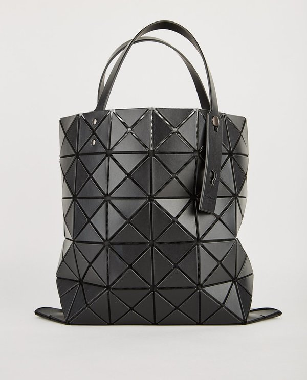 BAO BAO ISSEY MIYAKE LUCENT MATTE TOTE - BLACK  f8df7feff91ac