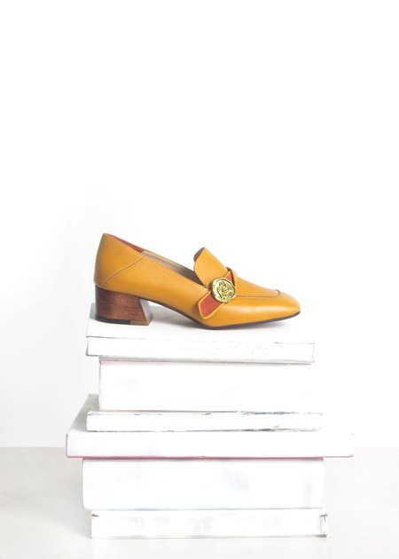 Taylor + Thomas Jane Loafer - Mustard