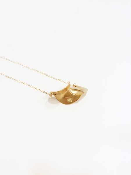 8.6.4 NL-H-05 Small chip necklace - Gold