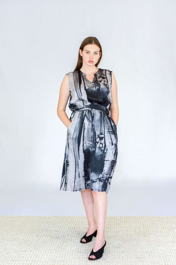 7e900e9cde GOSILK Grecian Print Dress. sold out. Go by Gosilk