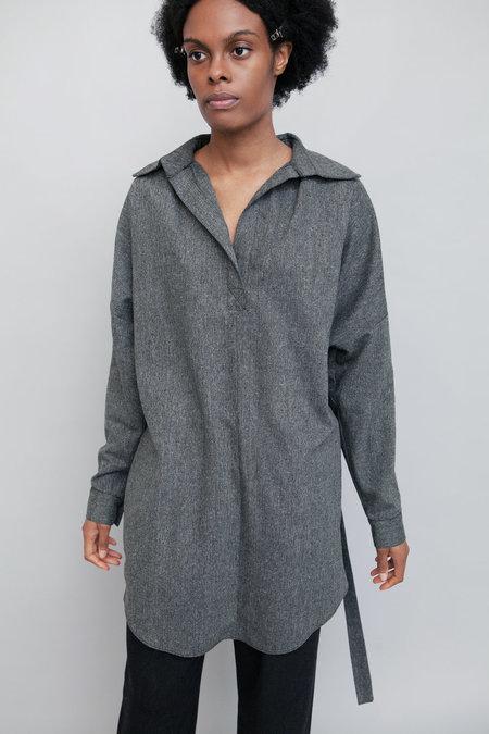 Lera Pivovarova Lamar Wool Shirt - Grey