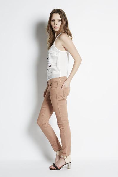 713 Cropped Skinny Jean