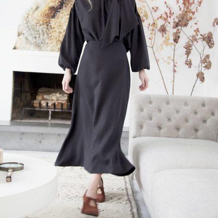 Hackwith Design House Flare Skirt - black