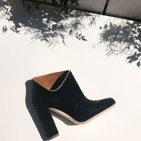 Malone Souliers Eula Velvet Boots - Tortora
