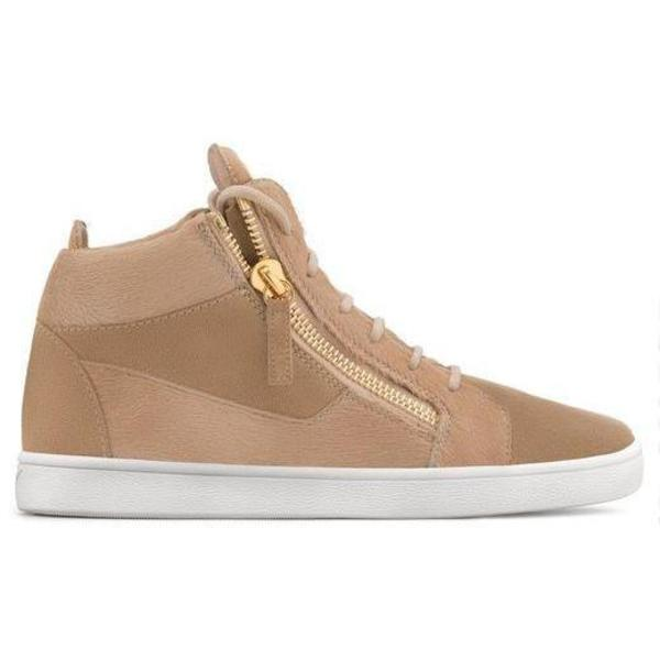 buy popular 506f2 4a7b7 Giuseppe Zanotti Jamie High-Top Sneaker - Beige