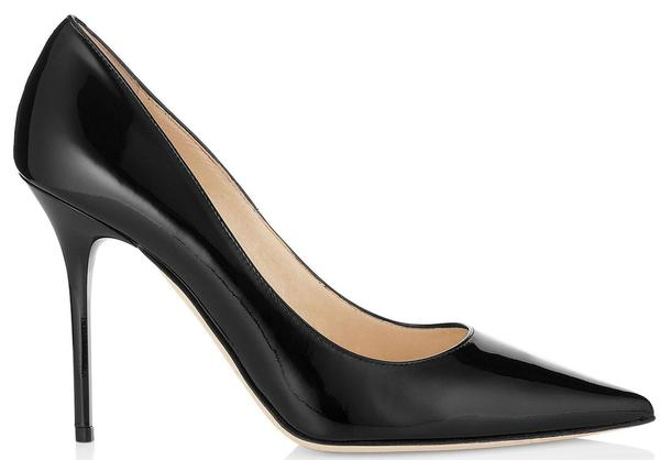 JIMMY CHOO Abel Patent Leather Pointy