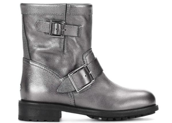 ce38568644b6c Jimmy Choo Youth Ankle Boot - Anthracite | Garmentory