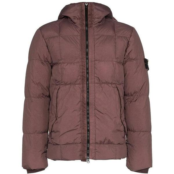 hot sale online eb23d 9935f Stone Island Garment Dyed Crinkle Reps NY Down Jacket - Rose Quartz on  Garmentory