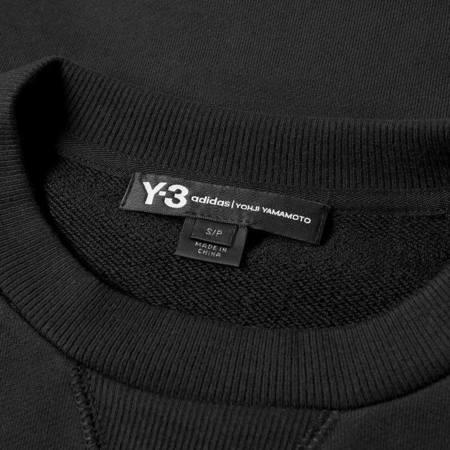 Y-3 Back Logo Crewneck - Black