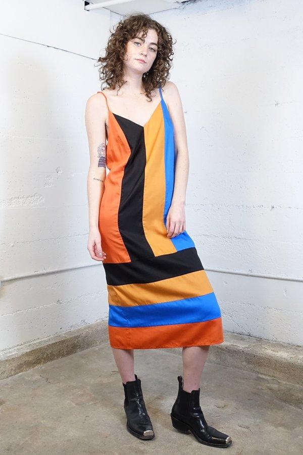 074dfca9c1d Mara Hoffman Tallulah Dress - Domino Colorblock