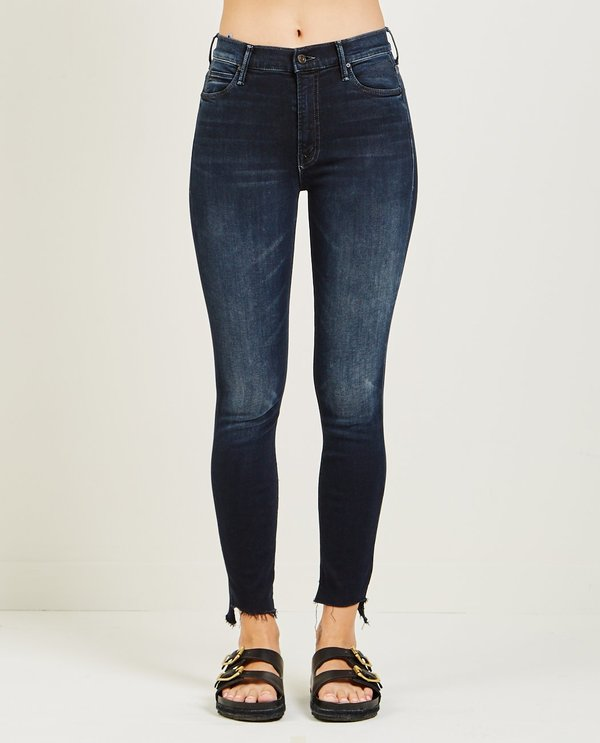 Mother Denim THE STUNNER ZIP TWO STEP FRAY JEAN - LAST CALL